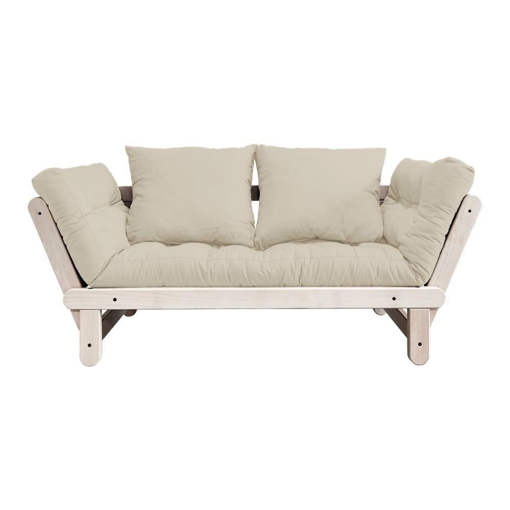 Sofa rozkładana Karup Design Beat Natural Clear/Beige