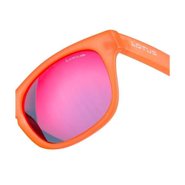 Damskie okulary przeciwsłoneczne Lotus L758903 Matt Orange