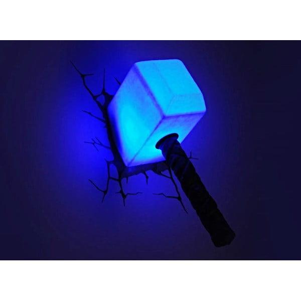 Dziecięca naścienna lampka 3D Thor