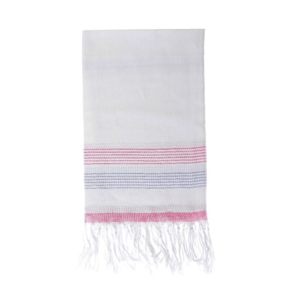 Ręcznik hammam Berrak Red, 80x160 cm