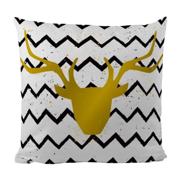 Poduszka Gold Deer, 50x50 cm
