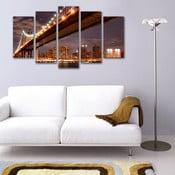 Pięcioczęściowy obraz Most