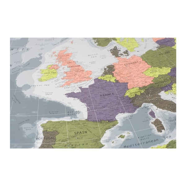 Mapa Europy Future Map, 100x70 cm