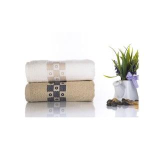 Zestaw 2 ręczników Anita V2, 50x90 cm