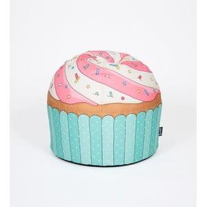 Puf w kształcie babeczki Cupcake Blue
