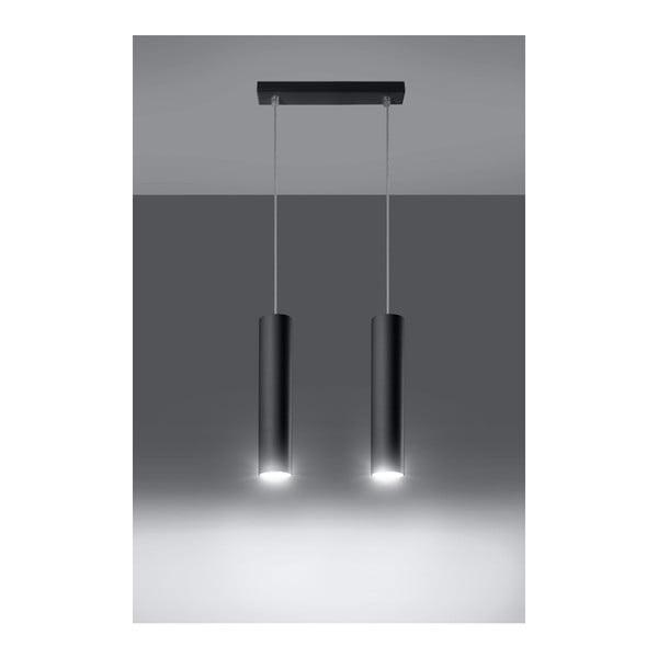 Czarna lampa wisząca Nice Lamps Castro 2