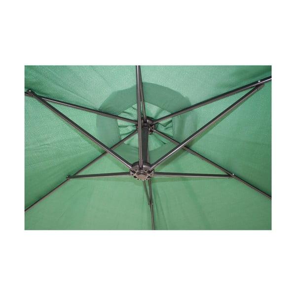 Parasol Vetro 300 cm, ciemnozielony