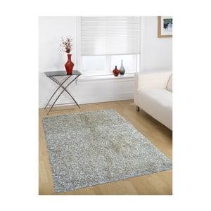 Szaro-beżowy dywan Webtappeti Shaggy, 60x100cm