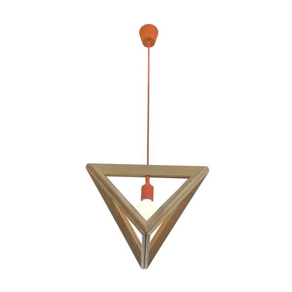 Żyrandol Triangle Orange
