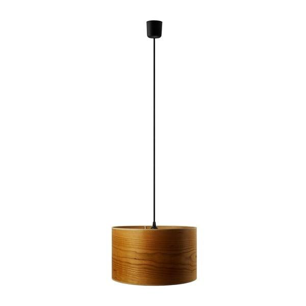 Lampa wisząca w kolorze drewna wiśniowego Sotto Luce TSURI,Ø40cm