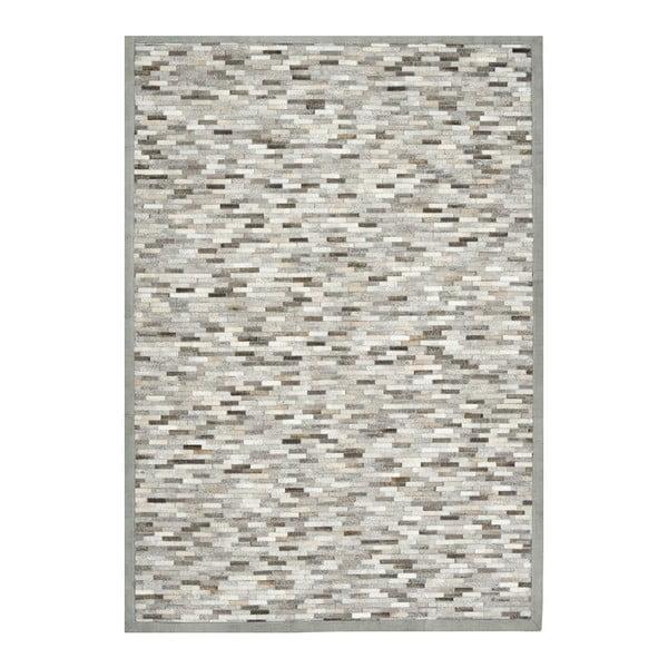 Dywan z krowiej skóry Patchwork, 60x120 cm