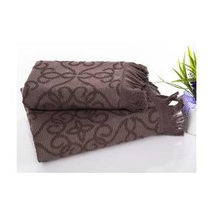 Ręcznik Dalgaa Pink, 50x90 cm