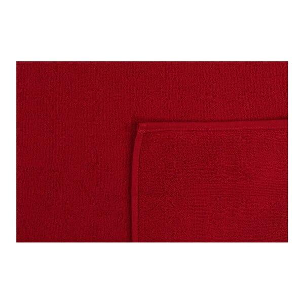 Czerwony ręcznik Lisbeth,50x75cm