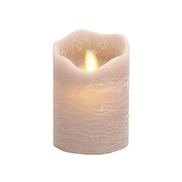 Świeczka LED Vorsteen Candle Grau, 11cm