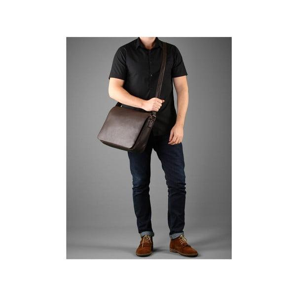Skórzana torba męska Dan Brown