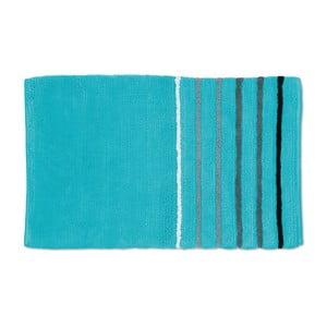 Dywanik łazienkowy Ladessa, niebieski, 60x100 cm