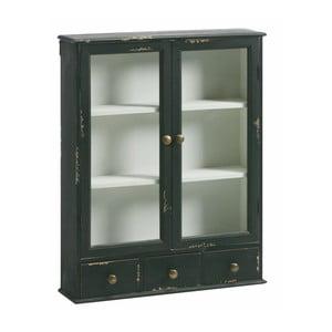 Szafka ścienna Wall Cabinet Black, 75x60x15 cm