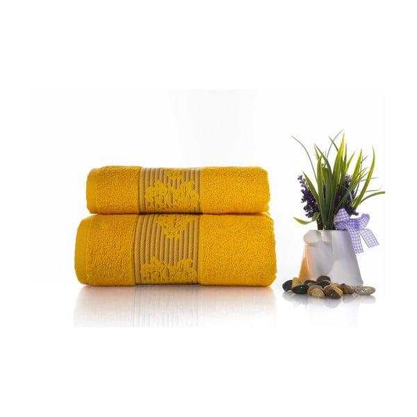 Zestaw 2 ręczników Suave V2, 50x90 cm + 70x140 cm