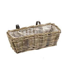 Koszyk na doniczkę na balustradę Ascot