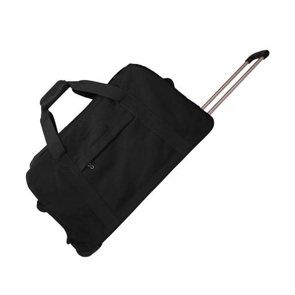 Torba podróżna na kółkach Sac Black, 76 cm