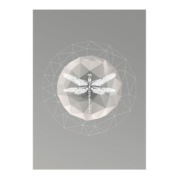 Plakat Dragonfly, A3