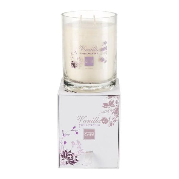 Świeczka zapachowa Vanilla & Lavender Large, czas palenia 80 godzin