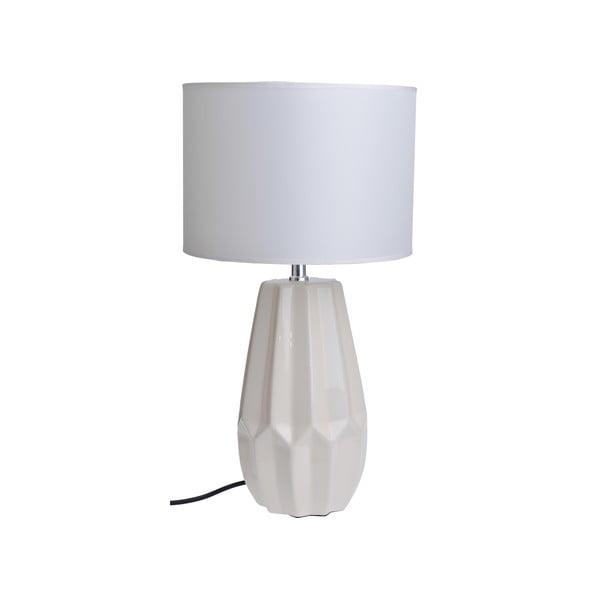 Lampa stołowa Ceramic Foot, biała