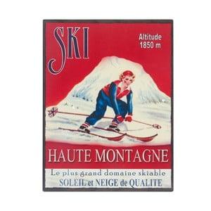 Tablica Ski, 25x33 cm