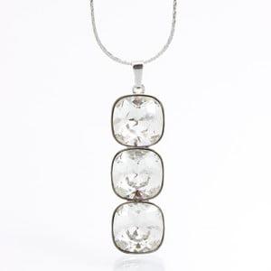 Naszyjnik Laura Bruni Swarovski Elements Necklace Crystal