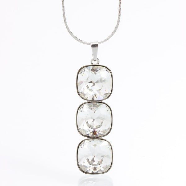 Naszyjnik Laura Bruni Swarovski Elements Necklace Crystal