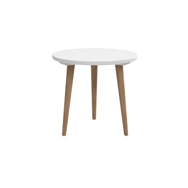 Stół D2 Bergen, 45 cm, biały