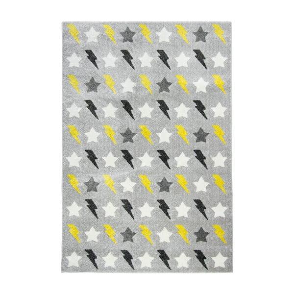 Niebieski dywan dziecięcy Bolt, 120x170 cm