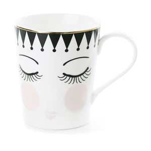 Kubek ceramiczny Miss Étoile Coffee Eyes and Dots