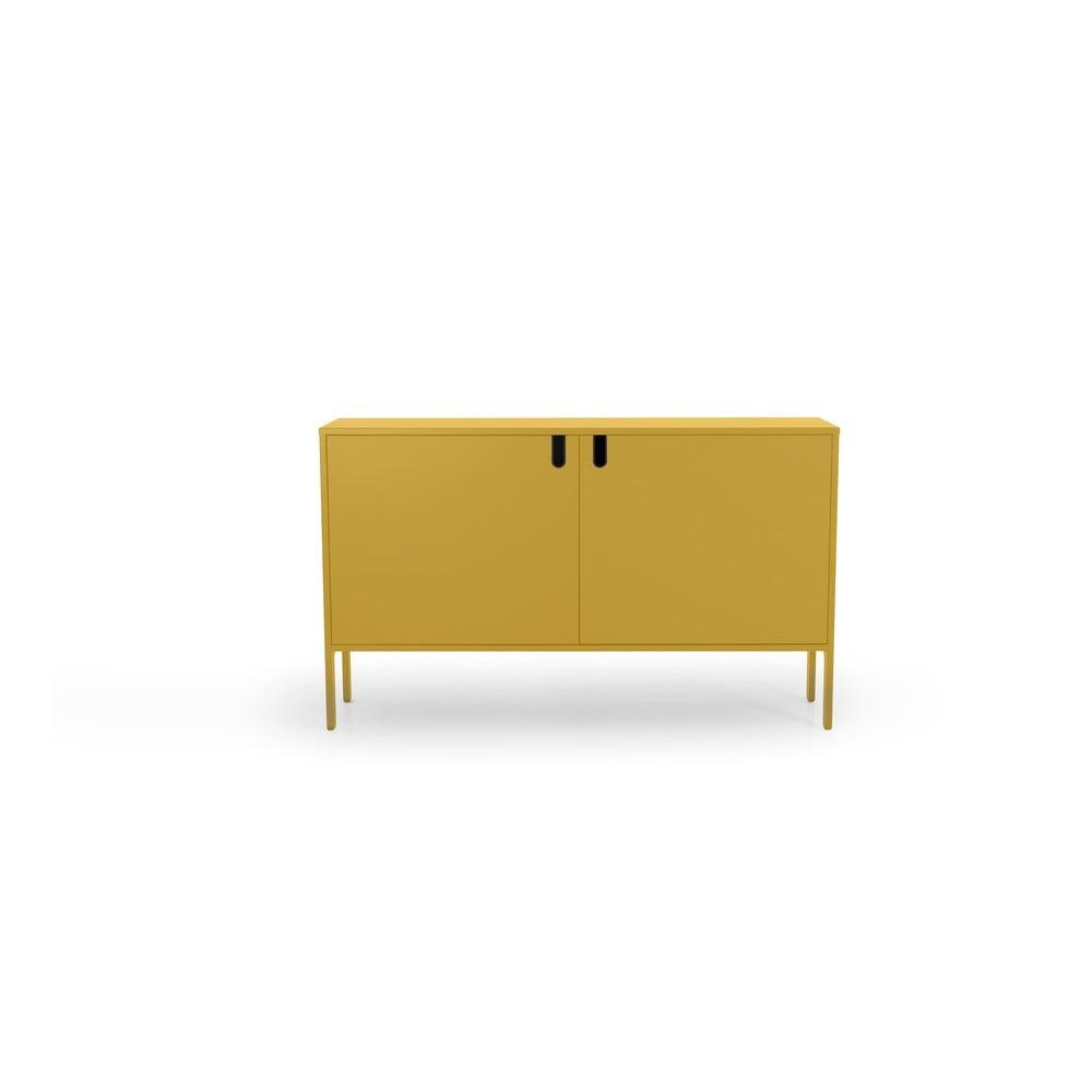 Żółta komoda Tenzo Uno, szer. 148 cm