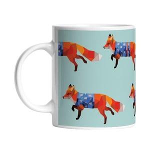Ceramiczny kubek Go Fox Go, 330 ml