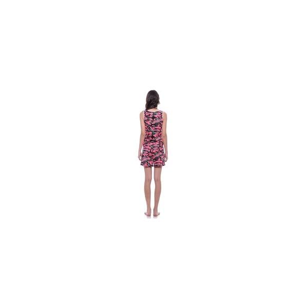 Krótki kombinezon bez rękawów Summer Pink Army, M