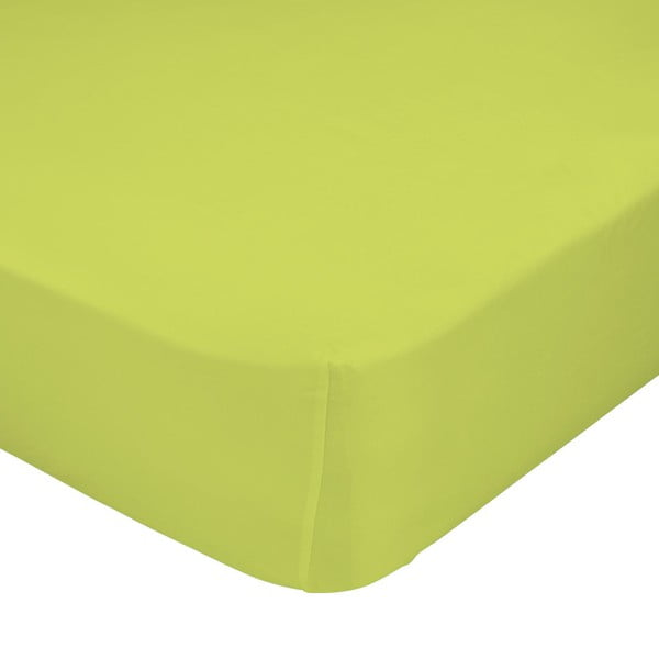 Prześcieradło Crib Green 70x140 cm