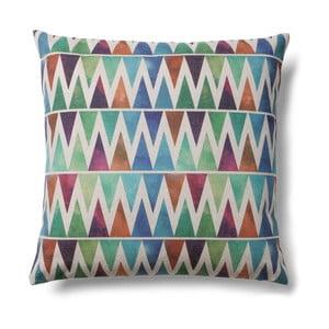 Poduszka La Forma Colorful Trianglo, 45 45 cm