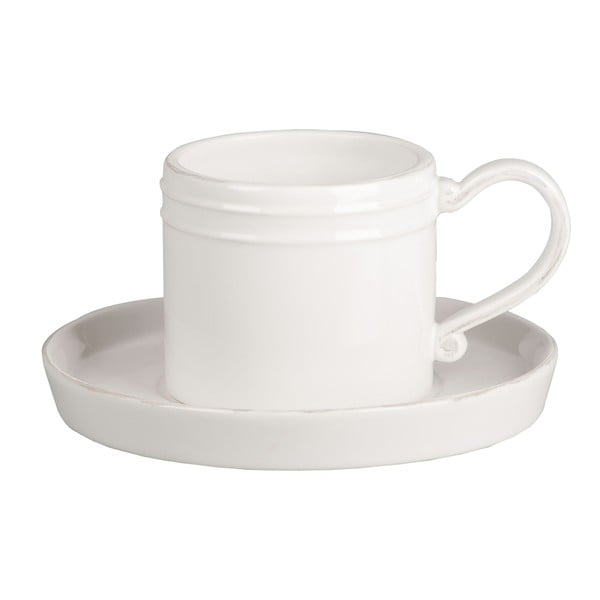 Kubek na kawę z podstawkiem Piatto