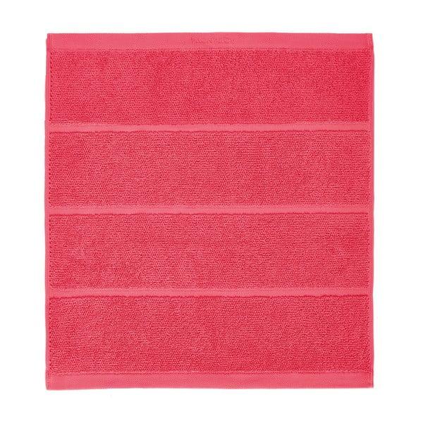 Koralowy czerwony dywanik łazienkowy Aquanova Adagio, 60x60cm