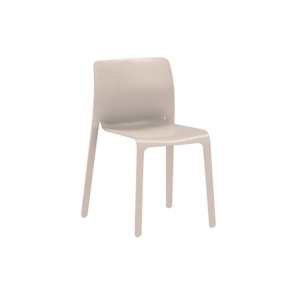 Beżowe krzesło Magis First