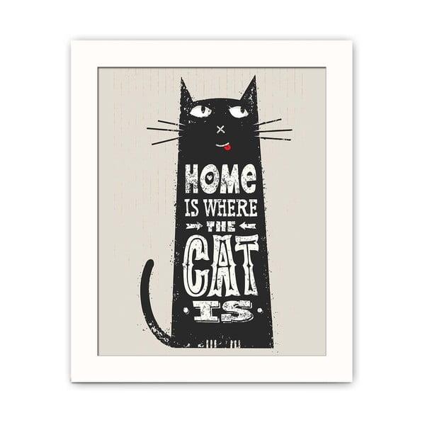 Obraz dekoracyjny Cat, 28,5x23,5 cm