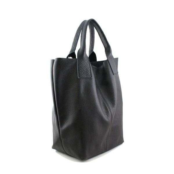 Skórzana torebka Fangi Nero
