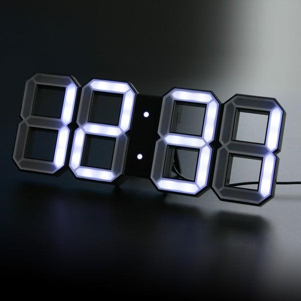 Czarny zegar LED - Vadim Kibardin, 10 m