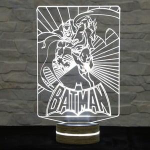 Lampa 3D stołowa Batman