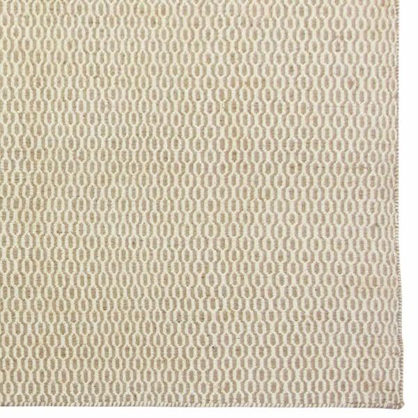 Ręcznie tkany dywan Kilim Beige Black, 160x230 cm