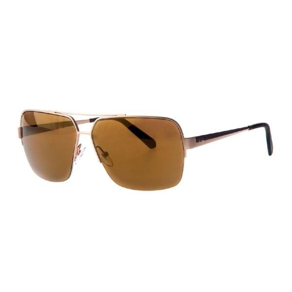 Męskie okulary przeciwsłoneczne Guess GU6738-GLD 1F