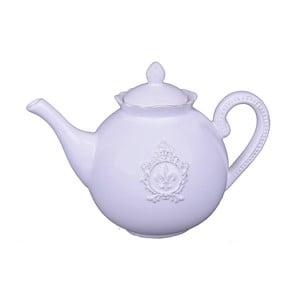 Biały dzbanek do herbaty Ego Dekor Vintage