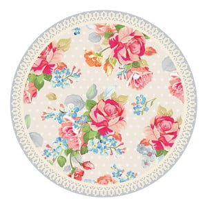 Zestaw 2 mat stołowych Pink Flowers