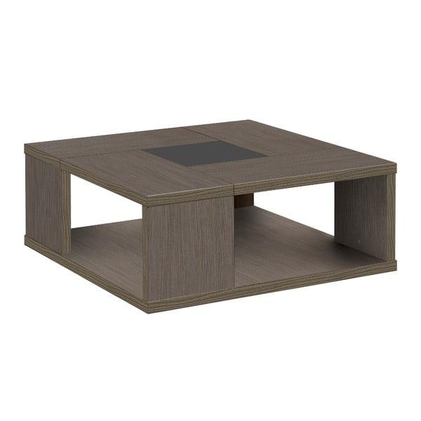 Szary stolik kwadratowy Gautier Hanna